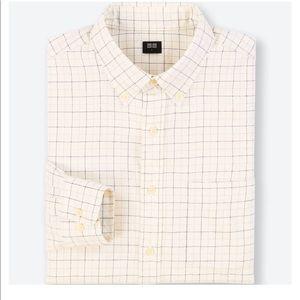 Uniqlo • Windowpane Flannel Buttonup